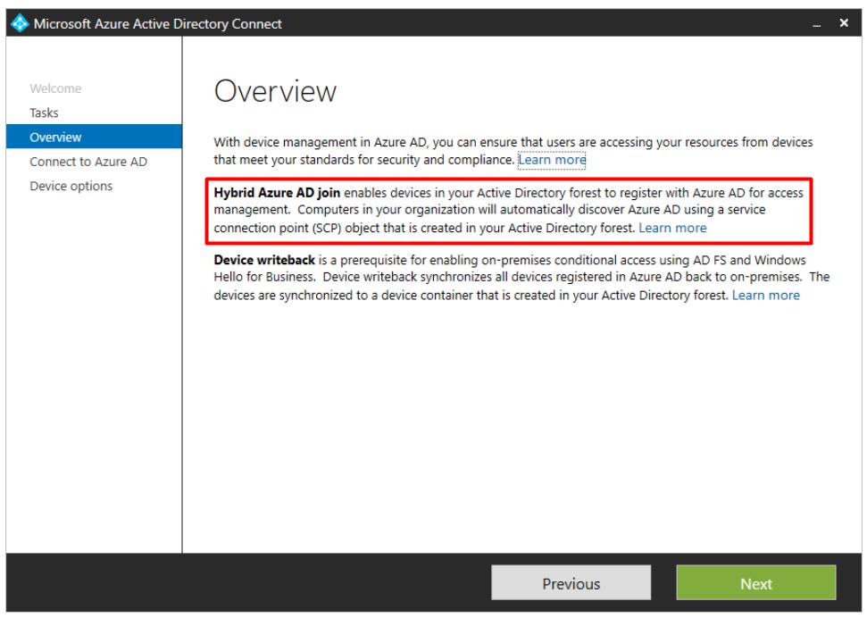 Microsoft Azure AD Connect
