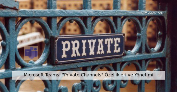 Microsoft Teams Private Channels