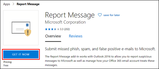 Report Message: Get It Now