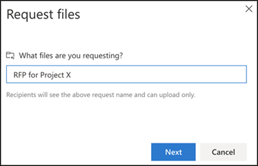 What files are you requesting?