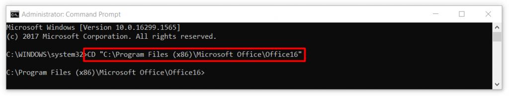 Office Etkinleştirme Sorunu - CMD