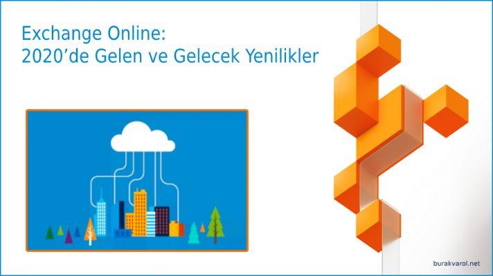 Exchange Online Yenilikler 2020