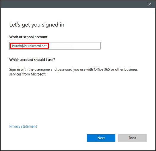 Outlook > Add Account > Sign in with another account (primary mailbox/main user)